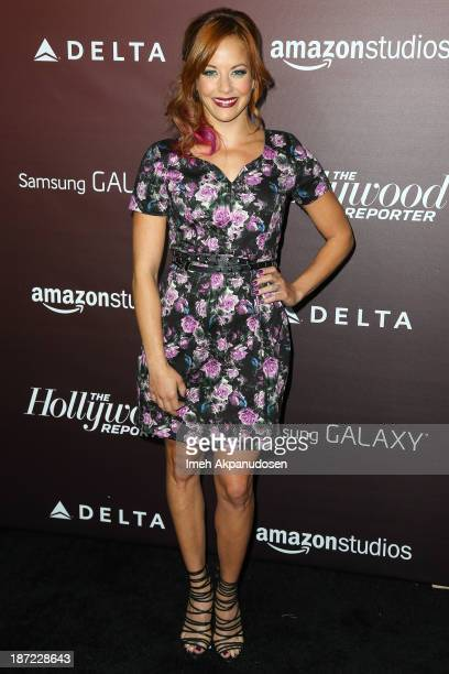 Actress Amy Paffrath attends The Hollywood Reporter's 'Next Gen' 20th Anniversary Gala at Hammer Museum on November 6 2013 in Westwood California