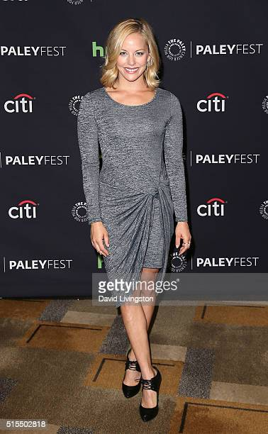 Actress Amy Paffrath attends The Paley Center For Media's 33rd Annual PaleyFest Los Angeles 'Supergirl' at the Dolby Theatre on March 13 2016 in...