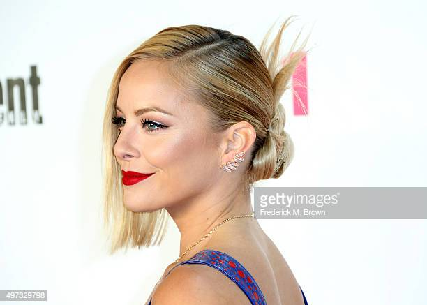 Actress Amy Paffrath attends VH Big in 2015 With Entertainment Weekly Awards at Pacific Design Center on November 15 2015 in West Hollywood California