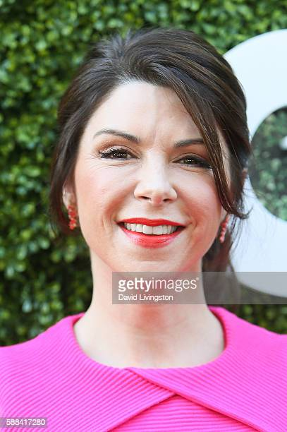 Actress Amy Pietz arrives at the CBS CW Showtime Summer TCA Party at the Pacific Design Center on August 10 2016 in West Hollywood California