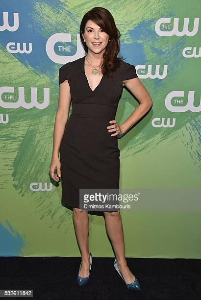 Actress Amy Pietz attends the CW Network's 2016 New York Upfront Presentation at The London Hotel on May 19 2016 in New York City