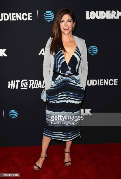 Actress Amy Pietz attends the premiere of ATT Audience Network's 'Loudermilk' and 'Hit The Road' at ArcLight Cinemas on October 10 2017 in Hollywood...