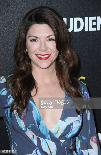 Actress Amy Pietz attends the screening of ATT Audience Network's 'Mr Mercedes' at The Beverly Hilton Hotel on July 25 2017 in Beverly Hills...
