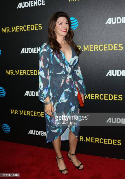 Actress Amy Pietz attends the screening of 'Mr Mercedes' at The Beverly Hilton Hotel on July 25 2017 in Beverly Hills California