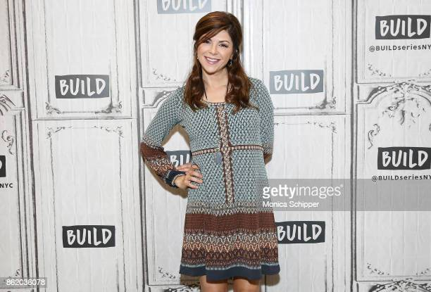 Actress Amy Pietz discusses Hit The Road at Build Studio on October 16 2017 in New York City