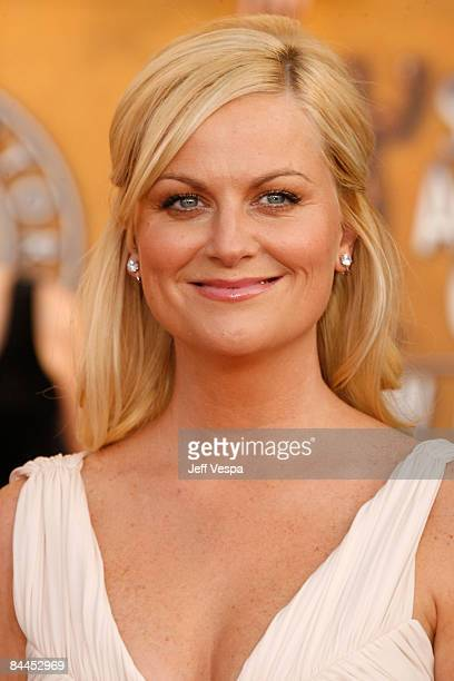 Actress Amy Poehler arrives at the 15th Annual Screen Actors Guild Awards held at the Shrine Auditorium on January 25 2009 in Los Angeles California