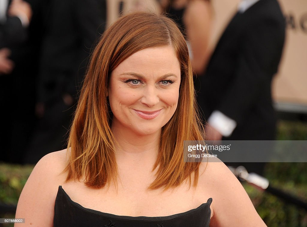 Actress Amy Poehler arrives at the 22nd Annual Screen Actors Guild Awards at The Shrine Auditorium on January 30, 2016 in Los Angeles, California.
