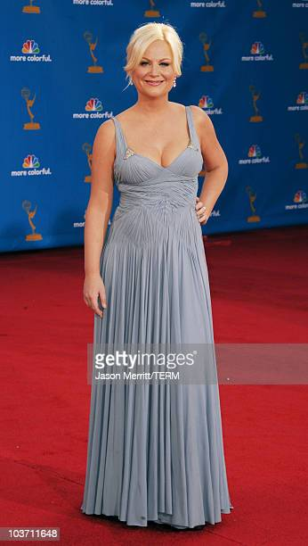 Actress Amy Poehler arrives at the 62nd Annual Primetime Emmy Awards held at the Nokia Theatre LA Live on August 29 2010 in Los Angeles California