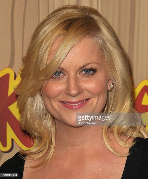 Actress Amy Poehler arrives at the celebration for the premiere episode of 'Parks Recreation' at MyHouse on April 9 2009 in Hollywood California