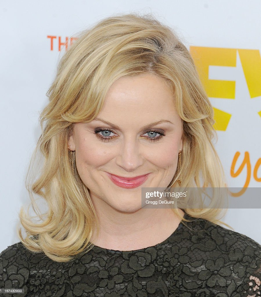Actress Amy Poehler arrives at The Trevor Project's 2012 'Trevor Live' event honoring Katy Perry at the Hollywood Palladium on December 2, 2012 in Hollywood, California.