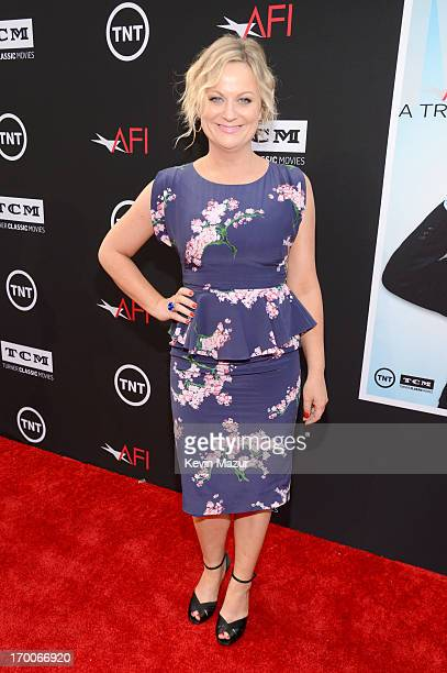 Actress Amy Poehler attends AFI's 41st Life Achievement Award Tribute to Mel Brooks at Dolby Theatre on June 6 2013 in Hollywood California...
