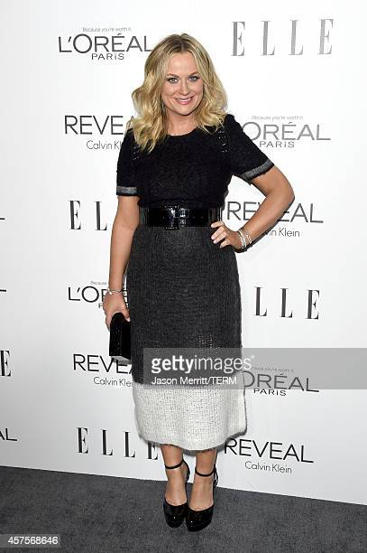 Actress Amy Poehler attends ELLE's 21st Annual Women in Hollywood Celebration at the Four Seasons Hotel on October 20 2014 in Beverly Hills California