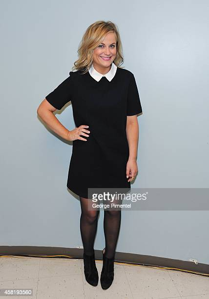 Actress Amy Poehler attends her book signing of her new book 'Yes Please' at Indigo Manulife Centre on October 30 2014 in Toronto Canada