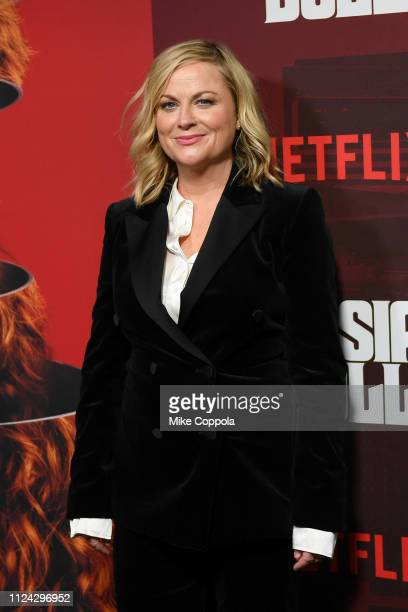 Actress Amy Poehler attends Netflix's Russian Doll Season 1 Premiere at Metrograph on January 23 2019 in New York City