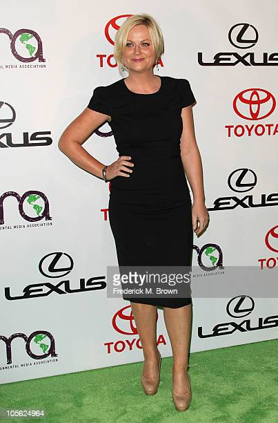 Actress Amy Poehler attends the 20th annual Enviornmental Media Association Awards at Warner Brothers Studios on October 16 2010 in Burbank California