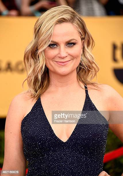 Actress Amy Poehler attends the 21st Annual Screen Actors Guild Awards at The Shrine Auditorium on January 25 2015 in Los Angeles California