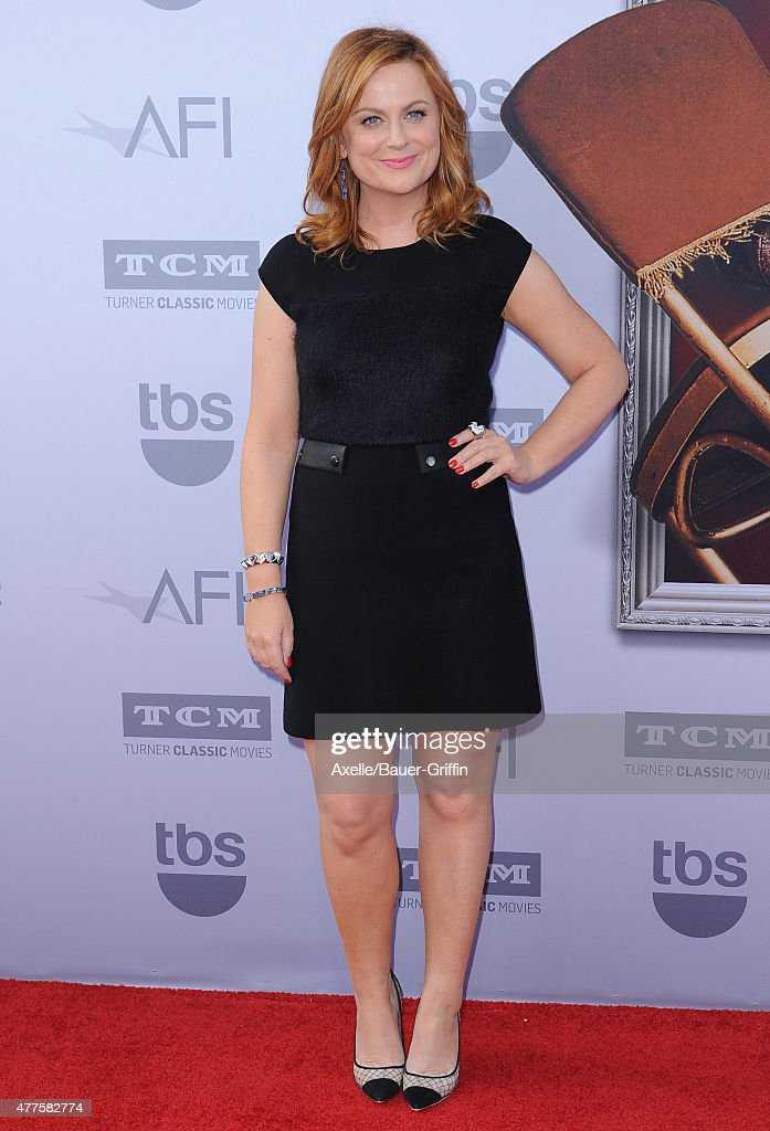 Actress Amy Poehler attends the 43rd AFI Life Achievement Award Gala at Dolby Theatre on June 4, 2015 in Hollywood, California.