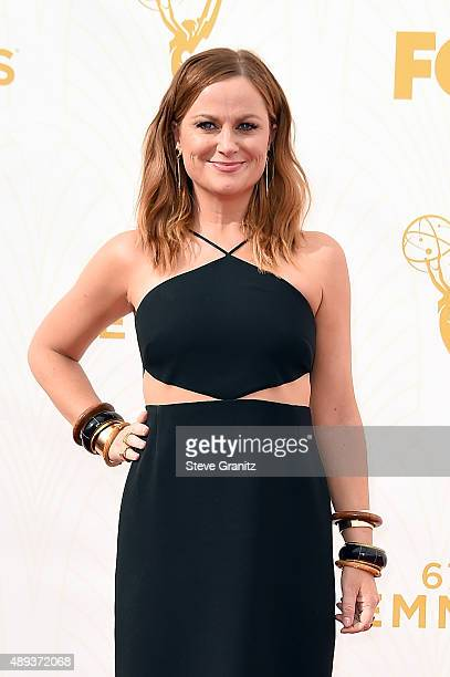 Actress Amy Poehler attends the 67th Annual Primetime Emmy Awards at Microsoft Theater on September 20 2015 in Los Angeles California