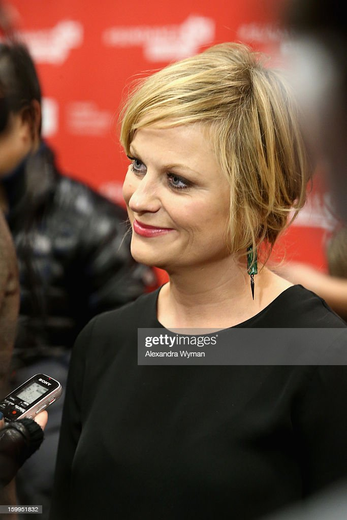 Actress Amy Poehler attends the 'A.C.O.D' Premiere during the 2013 Sundance Film Festival at Eccles Center Theatre on January 23, 2013 in Park City, Utah.