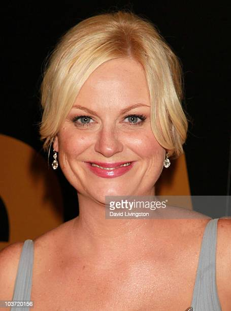 Actress Amy Poehler attends the AMC After Party for the 62nd Annual EMMY Awards at Soho House on August 29 2010 in West Hollywood California