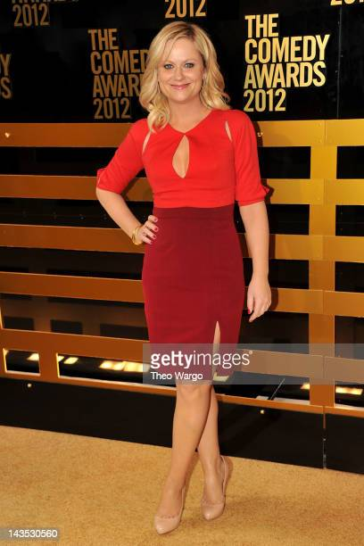 Actress Amy Poehler attends The Comedy Awards 2012 at Hammerstein Ballroom on April 28 2012 in New York City