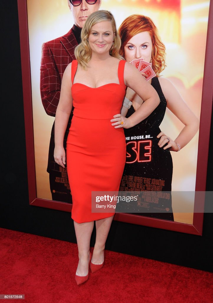 Actress Amy Poehler attends the Los Angeles Premiere of Warner Bros. Pictures' 'The House' at TCL Chinese Theatre on June 26, 2017 in Hollywood, California.