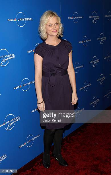 Actress Amy Poehler attends the NBC Universal Experience at Rockefeller Center on May 12 2008 in New York City