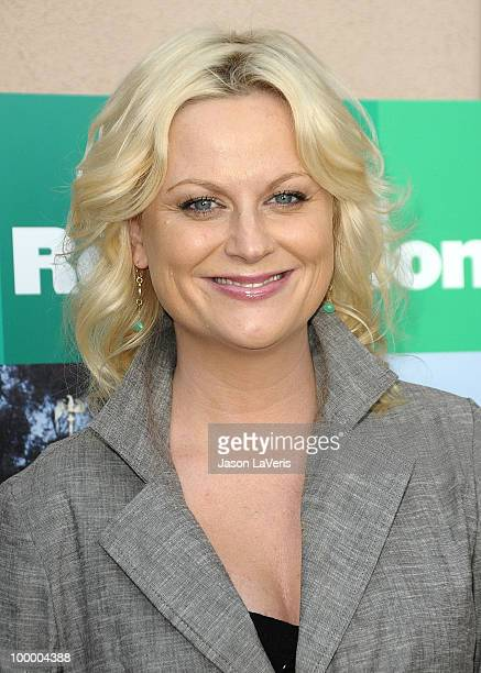 Actress Amy Poehler attends the Parks And Recreation Emmy screening at Leonard H Goldenson Theatre on May 19 2010 in North Hollywood California