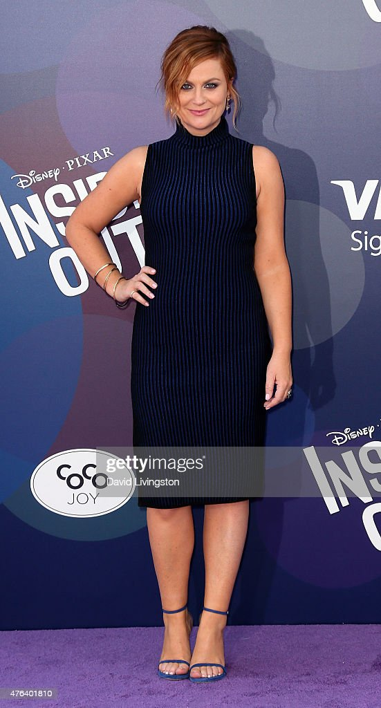 Actress Amy Poehler attends the premiere of Disney-Pixar's
