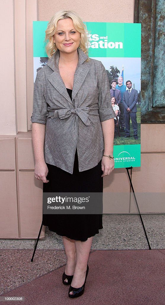 Actress Amy Poehler attends the screening of 'Parks and Recreation' at the Leonard H. Goldenson Theatre on May 19, 2010 in North Hollywood, California.