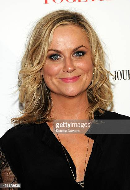 """Actress Amy Poehler attends the """"They Came Together"""" screening during the BAMcinemaFest 2014 at BAM Harvey Theater on June 23, 2014 in New York City."""