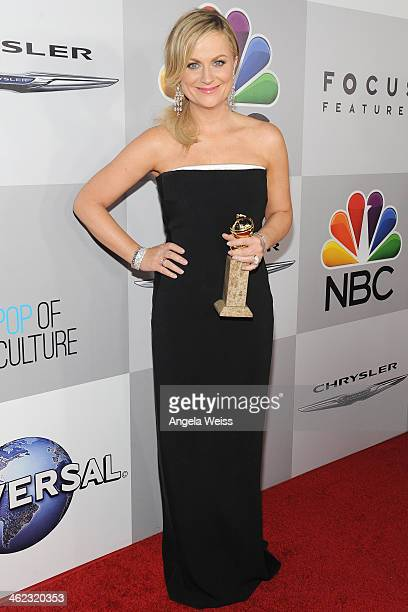 Actress Amy Poehler attends the Universal NBC Focus Features E sponsored by Chrysler viewing and after party with Gold Meets Golden held at The...