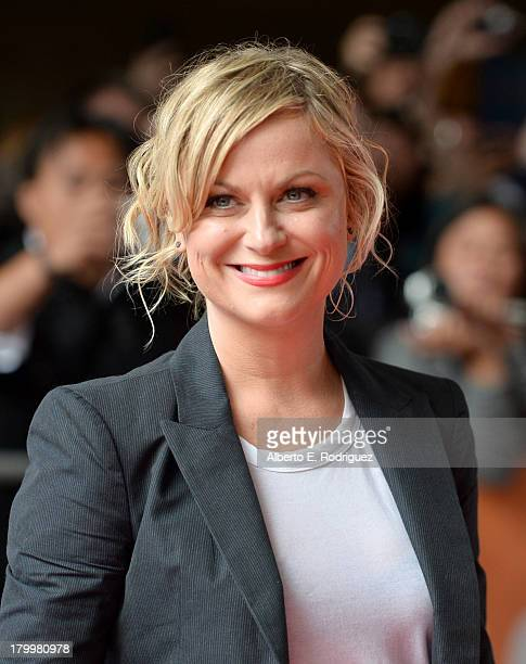 Actress Amy Poehler attends the 'You Are Here' premiere at Ryerson Theatre during 2013 Toronto International Film Festival on September 7 2013 in...