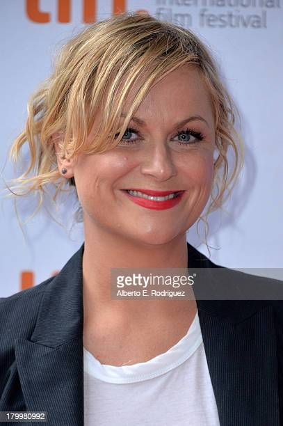 Actress Amy Poehler attends the You Are Here premiere at Ryerson Theatre during 2013 Toronto International Film Festival on September 7 2013 in...