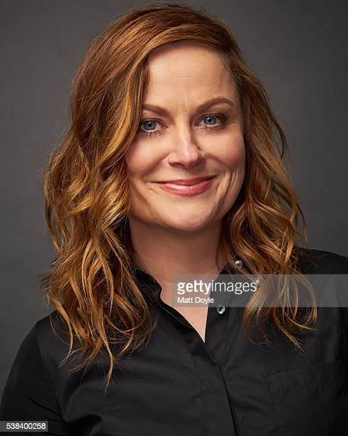 Actress Amy Poehler is photographed at the Hulu UpFront for TV Guide Magazine on May 4 2016 in New York City