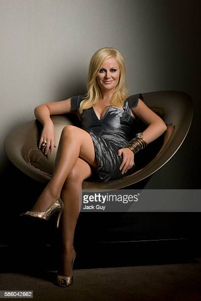 Actress Amy Poehler is photographed for Emmy Magazine on August 22 2009 in Hollywood California COVER IMAGE