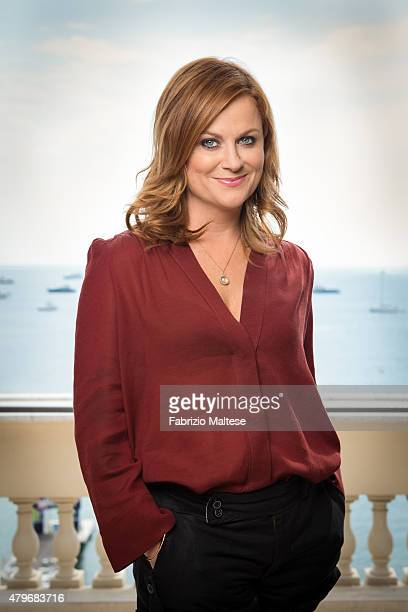 Actress Amy Poehler is photographed for The Hollywood Reporter on May 15 2015 in Cannes France