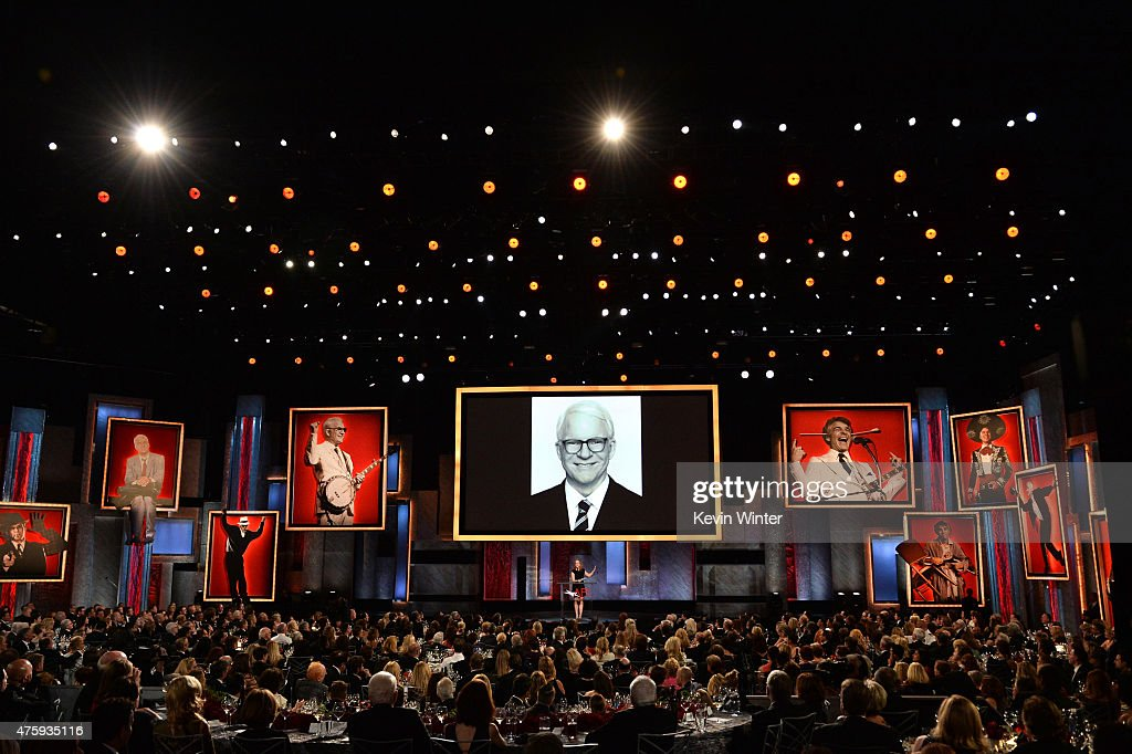 Actress Amy Poehler speaks onstage during the 2015 AFI Life Achievement Award Gala Tribute Honoring Steve Martin at the Dolby Theatre on June 4, 2015 in Hollywood, California. 25292_003