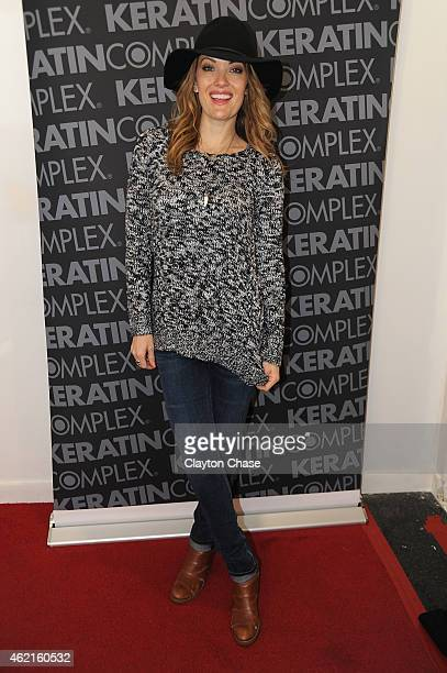 Actress Amy Purdy attends Music Lodge Hosts MTV Interview Studio Day 2 on January 25 2015 in Park City Utah