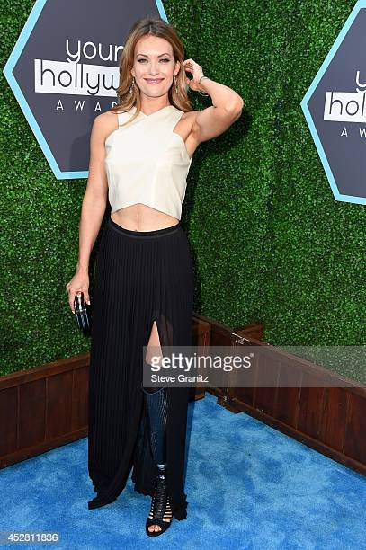 Actress Amy Purdy attends the 2014 Young Hollywood Awards brought to you by Mr Pink held at The Wiltern on July 27 2014 in Los Angeles California