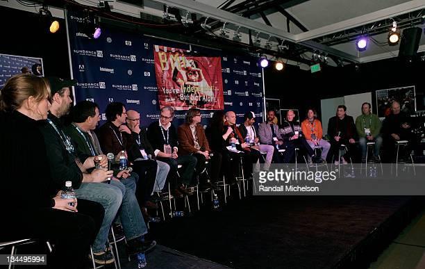 Actress Amy Redford director Patrick Creadon composer Peter Golub composer David Schwartz director/producer Alex Gibney director Jan Schutte composer...