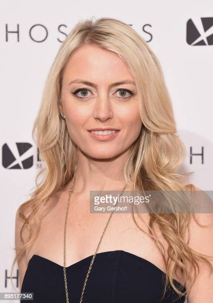 Actress Amy Rutberg attends 'Hostiles' New York premiere at Metrograph on December 18 2017 in New York City