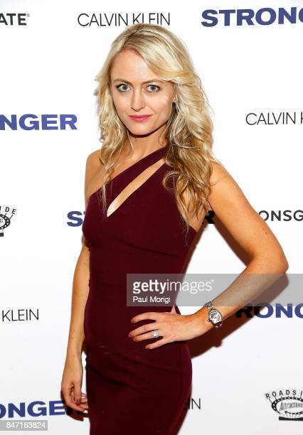 Actress Amy Rutberg attends the 'Stronger' New York Premiere at Walter Reade Theater on September 14 2017 in New York City