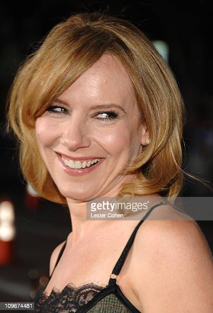 "Actress Amy Ryan arrive to the premiere of ""Gone Baby Gone"" at Mann Bruin Theater on October 8, 2007 in Westwood, California."