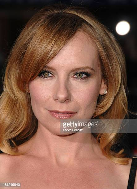 "Actress Amy Ryan arrives to the premiere of ""Gone Baby Gone"" at Mann Bruin Theater on October 8, 2007 in Westwood, California."