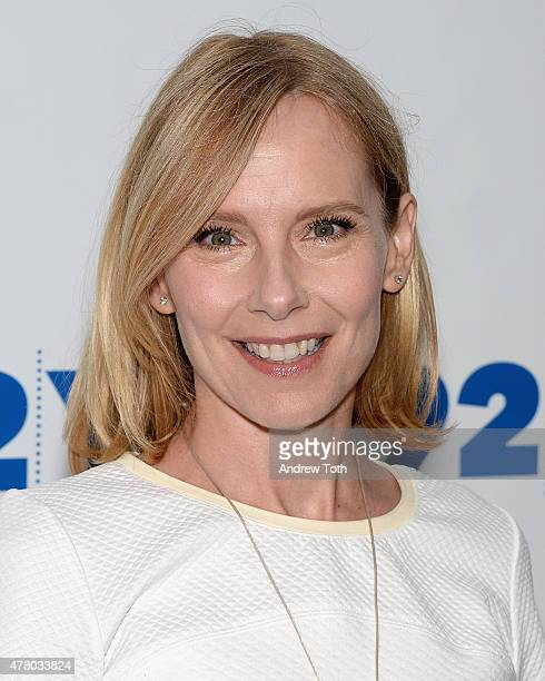 Actress Amy Ryan attends 92nd Street Y Presents Abbi Jacobson and Ilana Glazer In Conversation with Amy Ryan at 92nd Street Y on June 21 2015 in New...