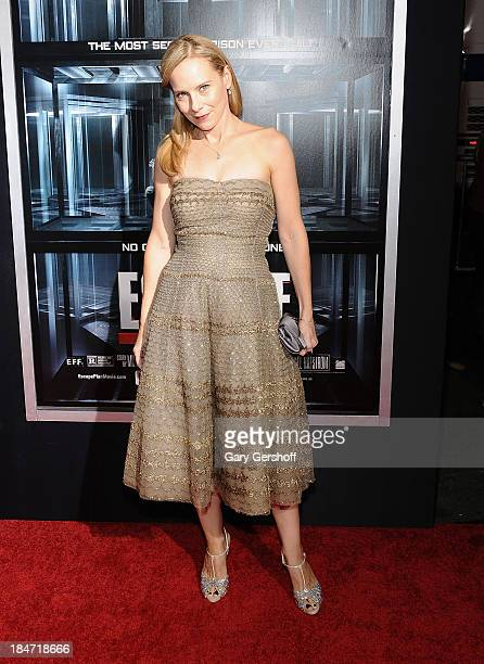 Actress Amy Ryan attends 'Escape Plan' New York Premiere at Regal EWalk on October 15 2013 in New York City