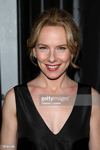 Actress Amy Ryan attends the 2007 New York Film Critic's Circle Awards at Spotlight on January 6, 2008 in New York City.