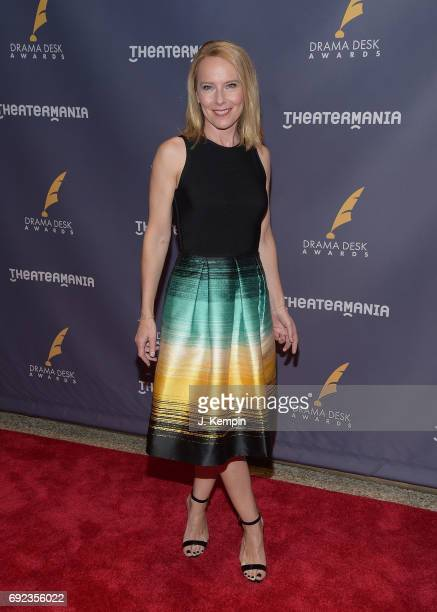 Actress Amy Ryan attends the 2017 Drama Desk Awards at Anita's Way on June 4 2017 in New York City