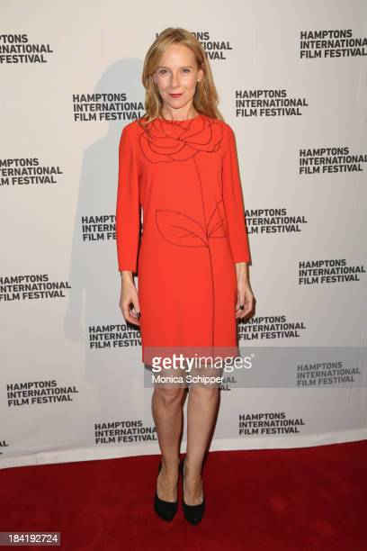 Actress Amy Ryan attends the 21st Annual Hamptons International Film Festival on October 11 2013 in East Hampton New York
